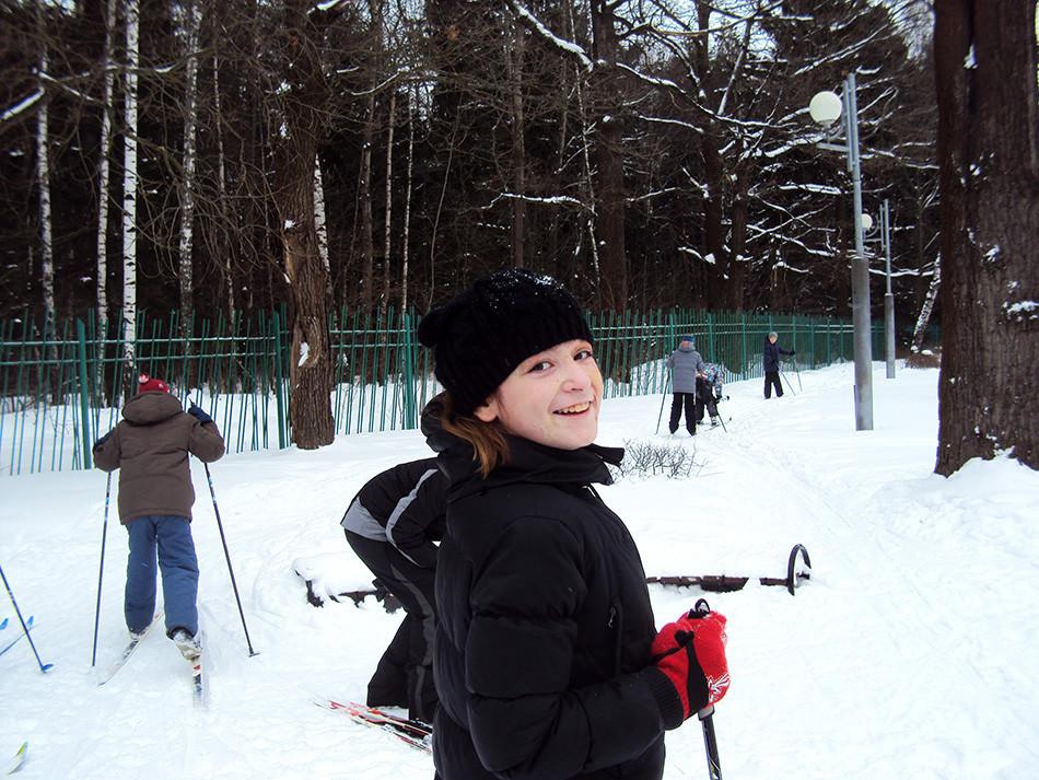 Вперед на лыжах!