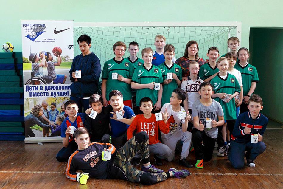 В Петербурге состоялся инклюзивный футбольный турнир