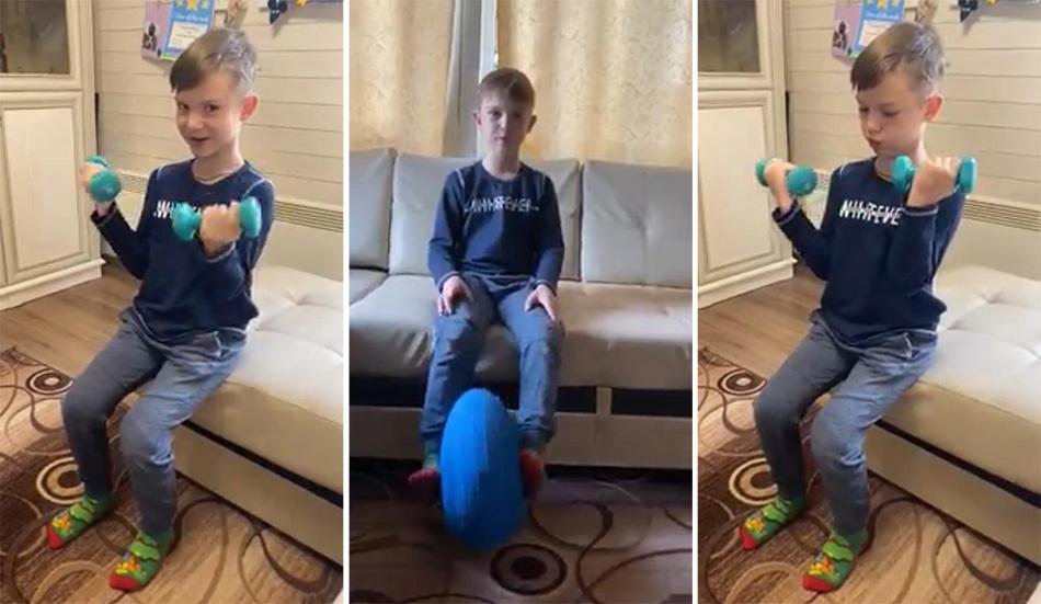 Вставай, зарядку начинай: домашние тренировки Тимофея Дегтярева