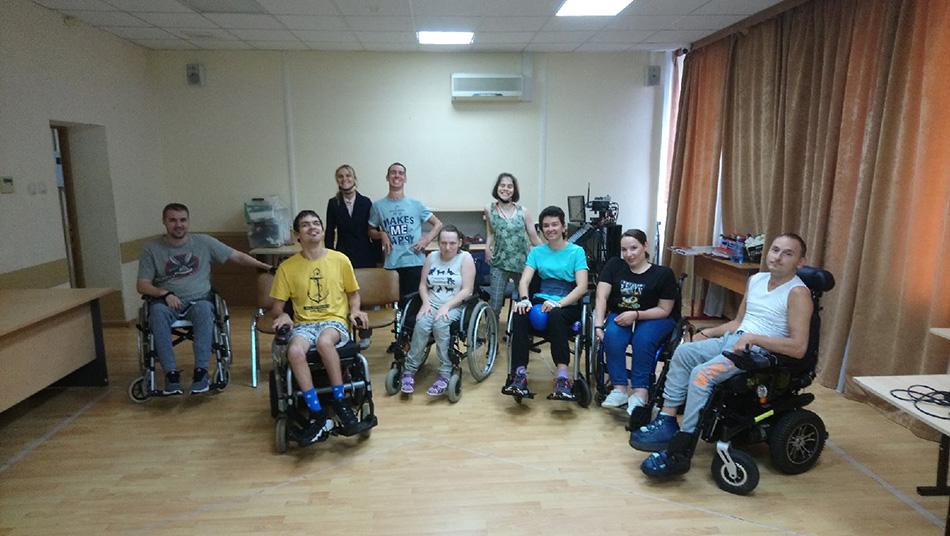 Мотивационная встреча для ребят с инвалидностью
