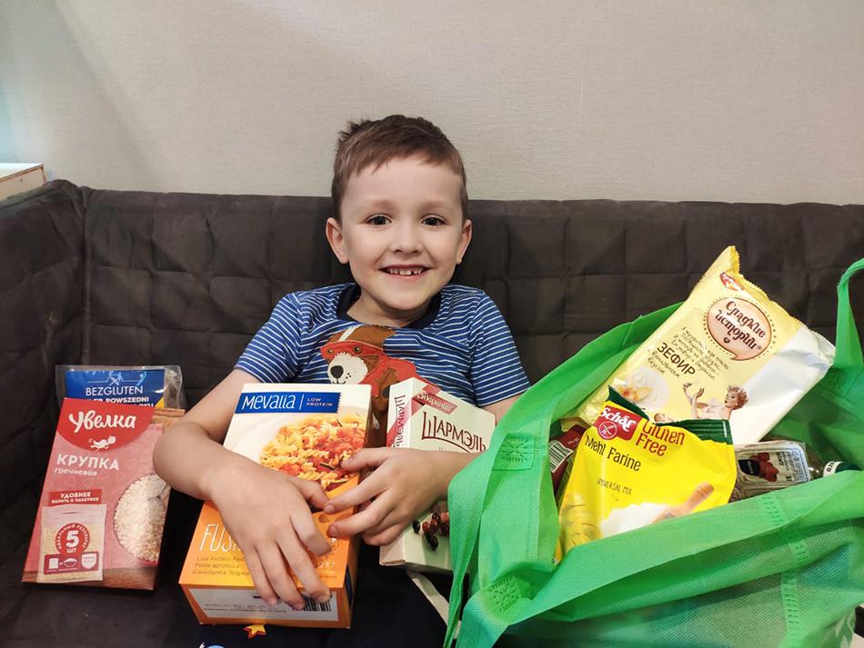 «Еда во благо»: люди с инвалидностью из 11 регионов получат продуктовые наборы