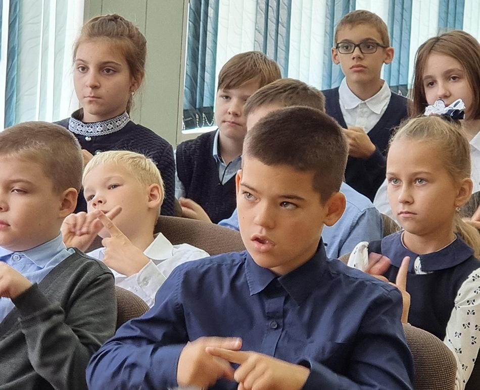 Самое удивительное о людях с инвалидностью: в школе №17 завершился цикл «Уроков доброты»